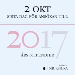 Ansök om stipendie nu_2017