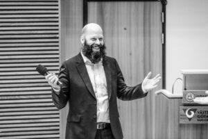 Njurstiftelsens nya styrelseordförande Leif Almberg.